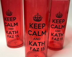 Copo Keep Calm Long Drink