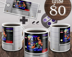 Caneca Final Fight 2 Cartucho Game Snes