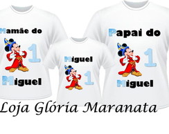 CAMISETA MICKEY MAGO KIT/3