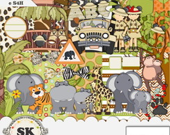 Kit Digital Mickey Safari 16