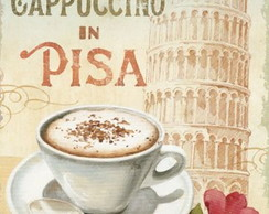Quadro Decorativo - Cappuccino in Pisa