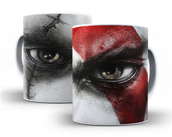 Caneca God Of War - Kratos