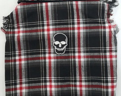 Camisa Pet Regata Caveira Rock P,M,G, GG