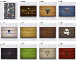Placa Decorativa Mdf-Star Wars