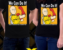Camiseta One Punch Man We Can Do It