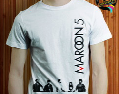 CAMISA ROCK BAND - MAROON 5