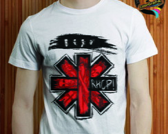 CAMISA ROCK BAND - RED HOT