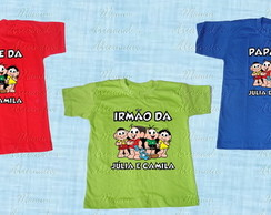 3 camisetas/body Turma