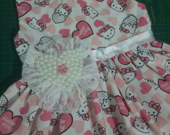 Vestido Infantil Hello Kitty