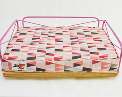 Cama Wire Pequena - Pink