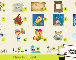 Characters Boys 1