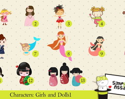 Characters Girls & Dolls 1
