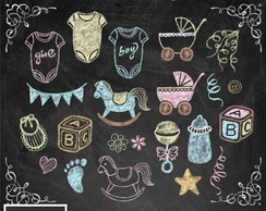 Kit Digital Scrapbook Chalkboard 8