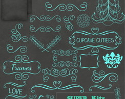 Kit Digital Scrapbook Chalkboard 19