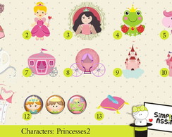 Characters Princesses 2