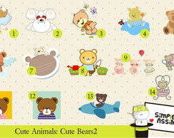 Cute Animals: Cute Bears 2