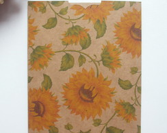 Envelope Estampado Kraft Girassol 2