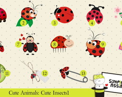 Cute Animals: Cute Insects 1