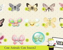 Cute Animals: Cute Insects 2