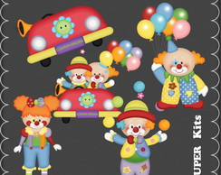 Kit Digital Scrapbook Circo 7