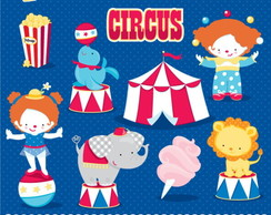 Kit Digital Scrapbook Circo 12