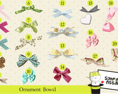 Ornaments: Bows 1