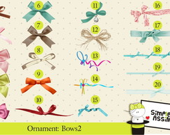 Ornaments: Bows 2