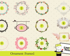 Ornaments: Frames 1