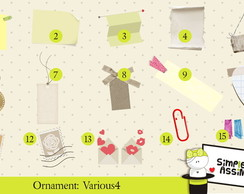 Ornaments: Various 4