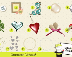 Ornaments: Various 5