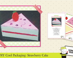 DIY Cool Packaging: Strawberry Cake