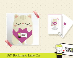 DIY Bookmark: Little Cat