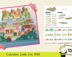 2018 Calendars: Little City