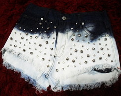 Short Jeans Spikes & Tachas