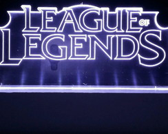 Abajur Gamer League of Legend