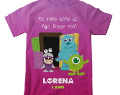 Camiseta Monstros SA Boo - Adulto