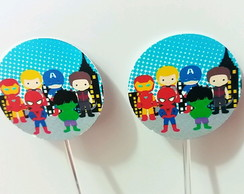 Toppers Vingadores Baby 2,5cm
