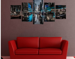 Quadro New York Blue City - QCMA0318