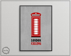 Poster Decorativo London Calling