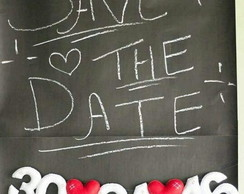 Varal Save The Date - Reserve esta data