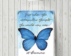 "Placa decorativa ""Butterfly"""