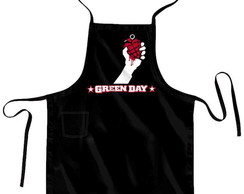 Avental + Bandana Green Day