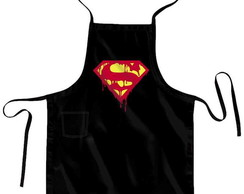 Avental + Bandana Super Man Blood