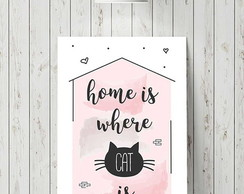 "Placa decorativa ""Home"""