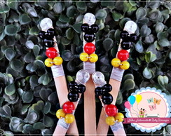 Palito Bordado Mickey