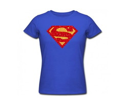 Babylook Adulto Super Girl