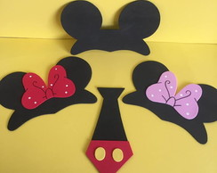 Tiara Minnie e Mickey EVA