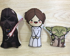 Trio Almofadas Star Wars