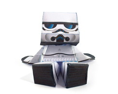PaperToy Trooper
