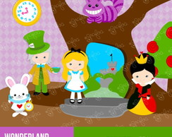 Kit Digital Scrapbook Alice Cute 16